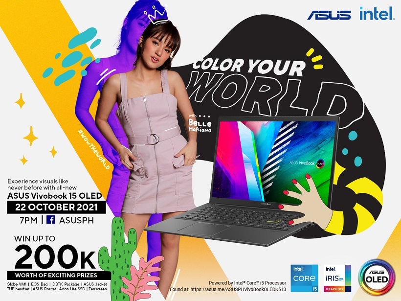 ASUS Color Your World Facebook Live Event
