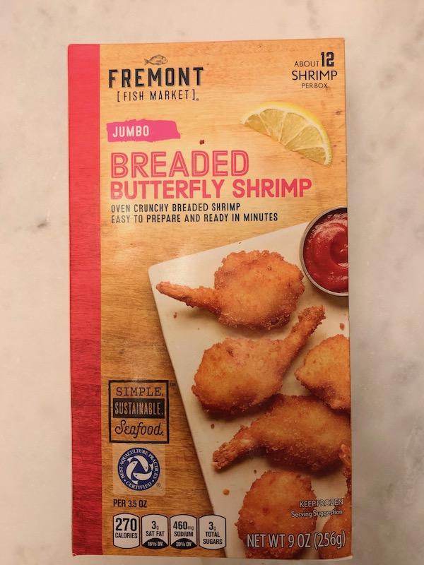 New England Romance: Easy Aldi Baja Shrimp Tacos