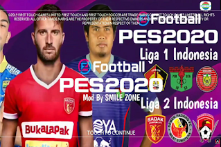 Download FTS Mod PES 2020 Full Transfer Liga Indonesia 2020