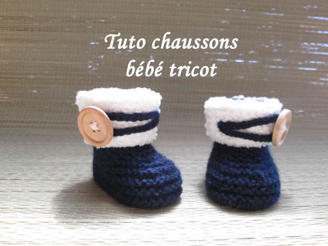 FadinouTuto Bebe Au Booties Tutos De Chausson Facile Les Tricot 8wnN0OZkPX
