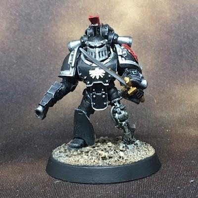 Horus Heresy Dark Angels Command Squad Veteran