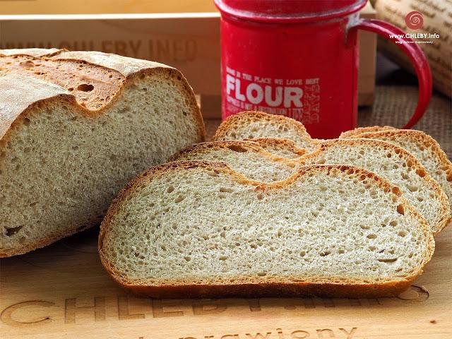 Pszenno-żytni chleb na zakwasie z pestkami dyni