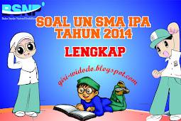 Download Soal UN SMA 2014 Jurusan IPA All Mapel