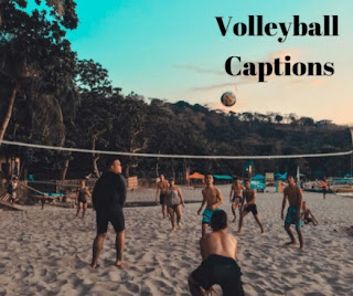 Volleyball Captions And Puns
