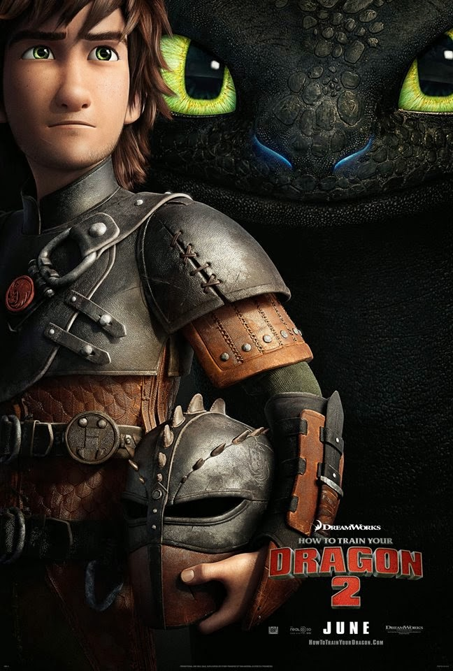 How to Train Your Dragon 2 Hiccup & Toothless