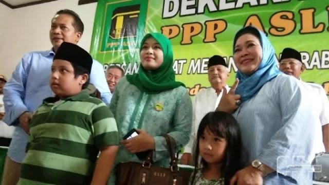 Dua Bocah Sumbang Uang ke BPN Prabowo-Sandi, Titiek Soeharto Menangis