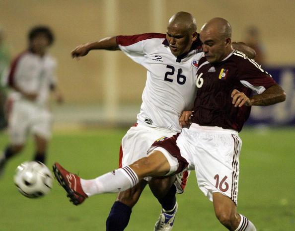 Venezuela y Chile en partido amistoso, 7 de febrero de 2007