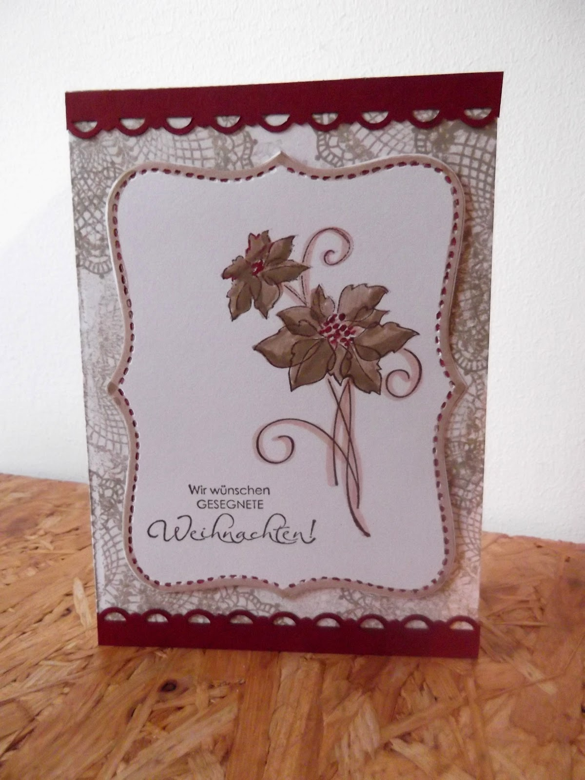 sconebeker stempelscheune 3 weihnachtskarten mit dem. Black Bedroom Furniture Sets. Home Design Ideas
