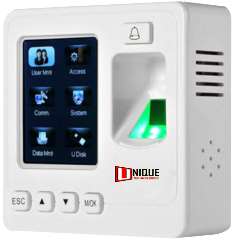 SF 100 IP based Fingerprint Time Attendance and Access Control System