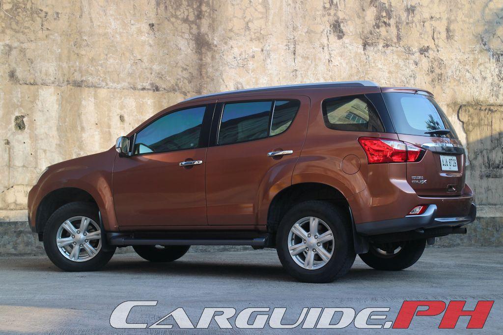Review 2015 Isuzu Mu X Ls A 4x4 Philippine Car News Car Reviews