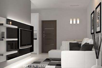 Jasa Design Living Room Apartemen Berkualitas Murah Berpengalaman