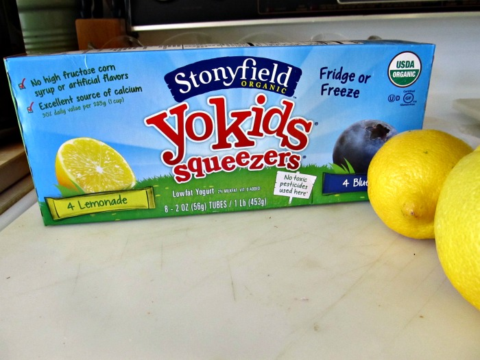 Stoneyfield Organic yokids Yogurt Squeezers are nutricious, safe and delicious.
