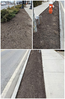 almost spring time, DPW is busy already tidying up the Town