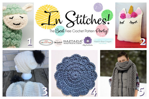 In Stitches Best Free Crochet Patterns Link Up Party Week 5