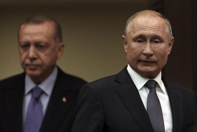 Ρόλο διαμεσολαβητή μεταξύ Ερντογάν και Άσαντ επιδιώκει ο Πούτιν
