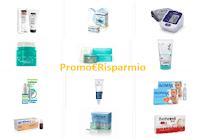 Logo Buoni sconto in Farmacia: 83 coupon da stampare per integratori, cosmetici, prodotti bimbi, macchine per la pressione ecc