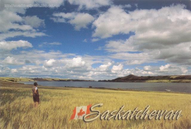 Postcard from Canada   Saskatchewan