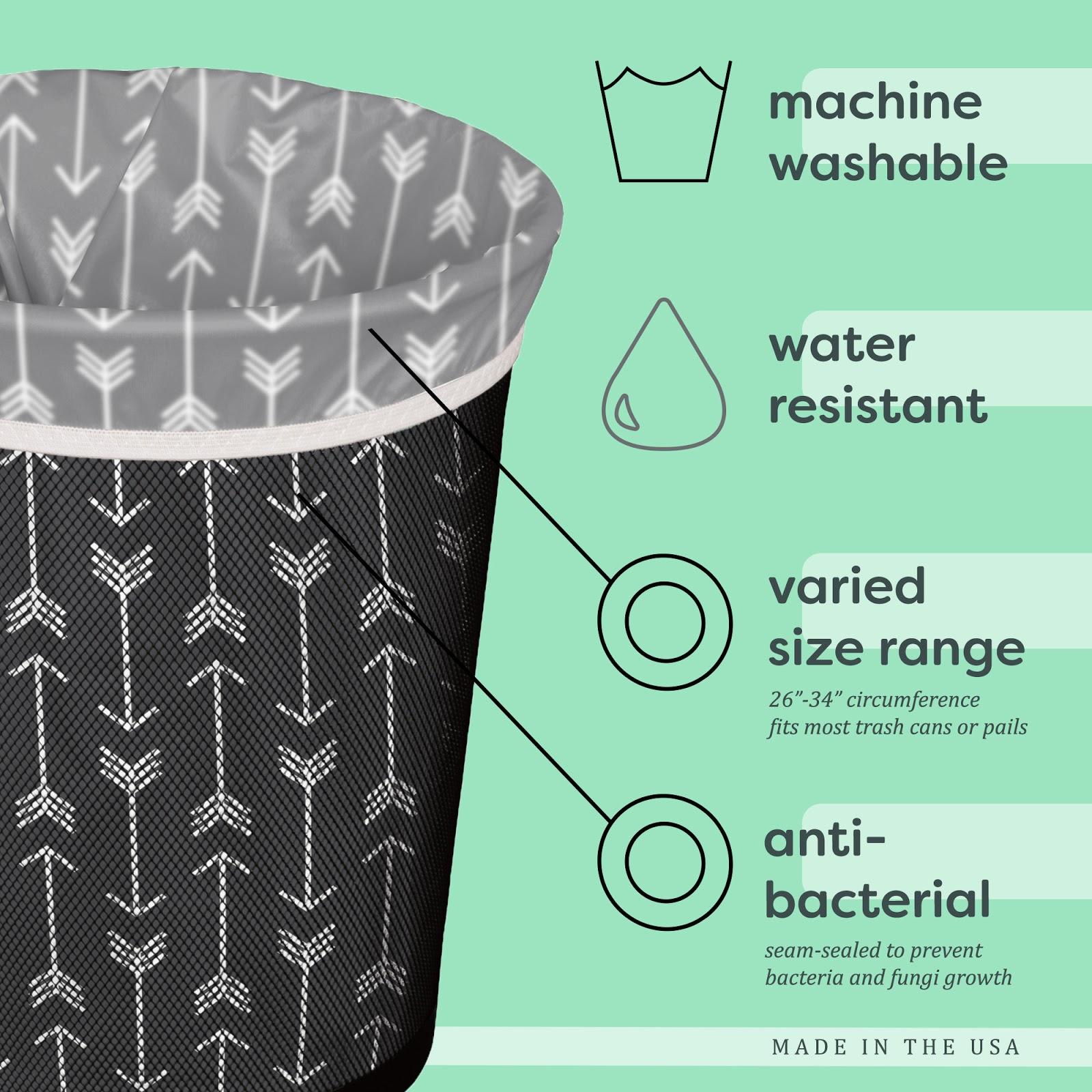 Sacos do lixo reutilizáveis