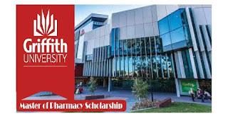 Master of Pharmacy Scholarship 2020 Griffith University