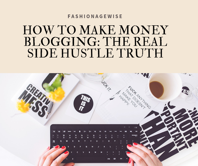image result HOW TO MAKE MONEY BLOGGING: THE REAL SIDE HUSTLE TRUTH