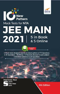 Disha 10 Mock Tests For JEE Main 2021[PDF]