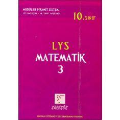 Karekök 10.Sınıf LYS Matematik-3 Kitabı