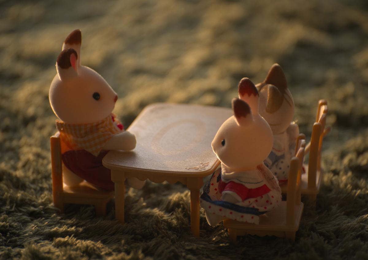 ジオラマシリーズ「白ウサギ」