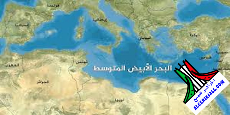 الحدود البحرية الجزائر ايطاليا و اسبانيا