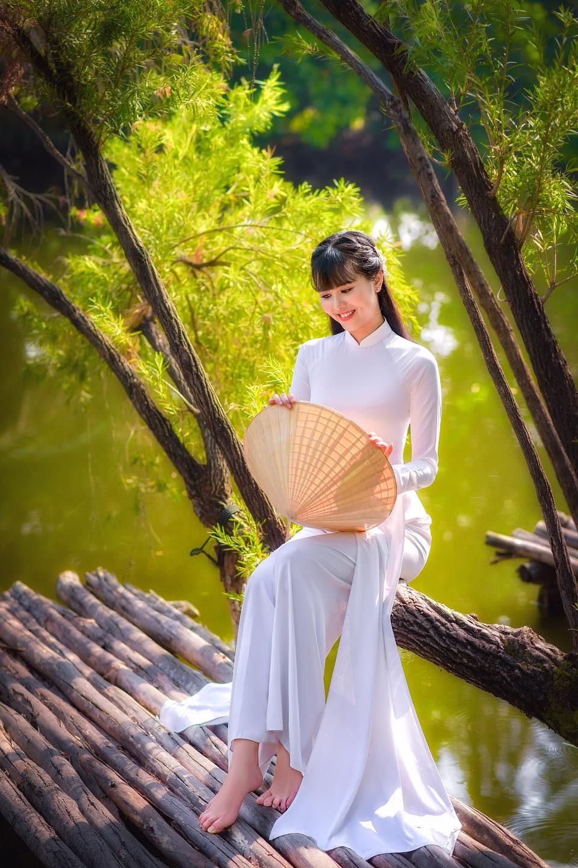 Tuyển tập girl xinh gái đẹp Việt Nam mặc áo dài đẹp mê hồn #57 - 11