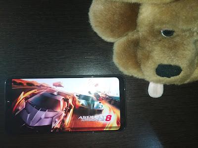 Gaming dengan Asus Zenfone max pro m2