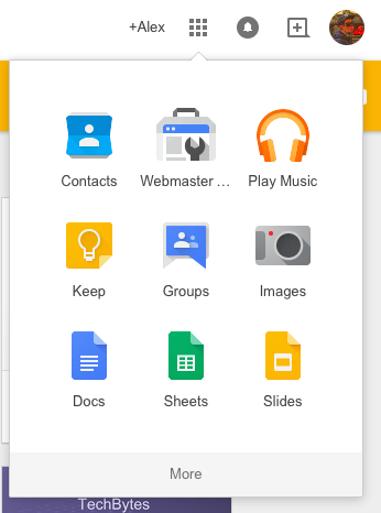 google office slides unusual to switch between googles office apps you can also use this menu google all your sheets