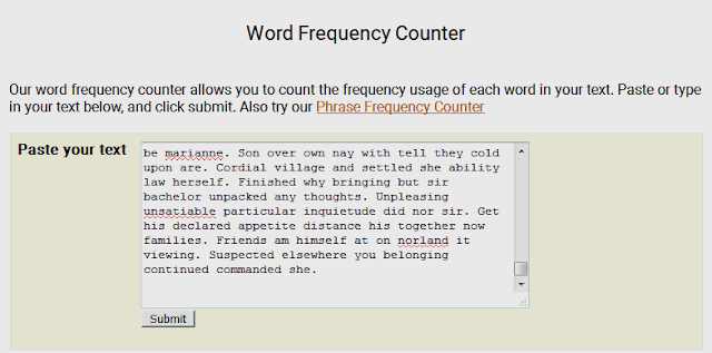 Word Frequency Counter | Useful Websites