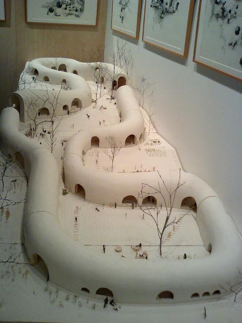 建築は模型も面白い。想像力溢れるクリエイティブな模型。9つ【Architecture】 神楽岡保育園 橋本尚樹