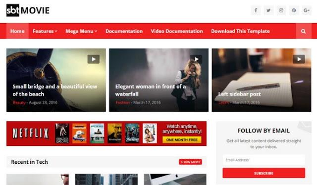 blogger templates, sbt movie responsive blogger template, best 10 responsive blogger templates, blogger templates free download, how to download blogger template, best free template for blogger 2020