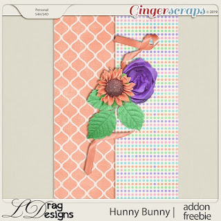 Creative Team for LDrag Designs -   Hunny Bunny and Coordinating Freebie