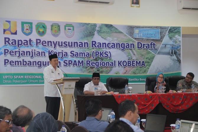 KOBEMA, Habiskan Dana 831 Miliar Untuk Solusi Air Bersih Bengkulu