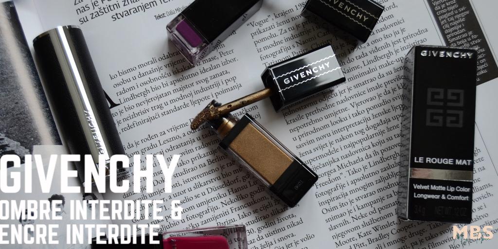 Givenchy Encre Interdite Lip Ink & Ombre Interdite