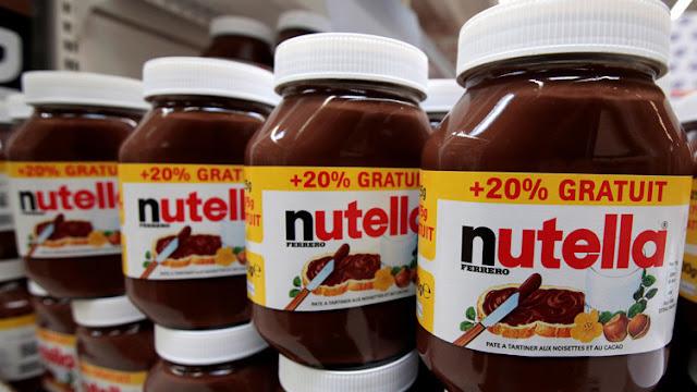 Supermercados retiran la crema de cacao Nutella ante posible riesgo de cáncer