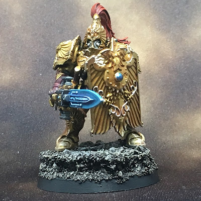 WIP Adeptus Custodes or Custodian Guard squad member 3 gallery shot front