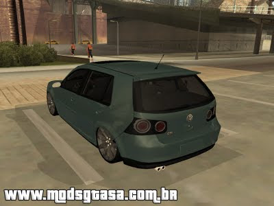 Vw Golf GTI 2008 Edit para GTA San Andreas