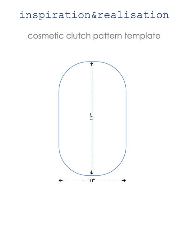 Transparent Cosmetics Clutch Bag Tutorial