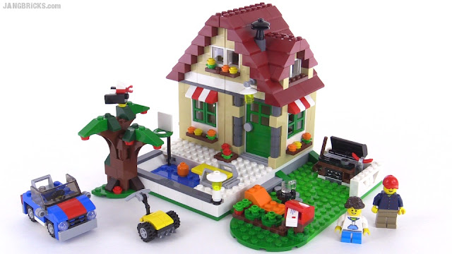Lego Creator Changing Seasons All 3 Versions Reviewed