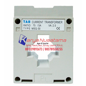 Jual Current Transformer TAB MSQ30 60 / 5 A di Pekalongan