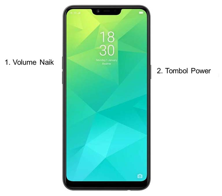 Root Ponsel Realme 2 / C1 Android Pie 9.0 Color OS 6