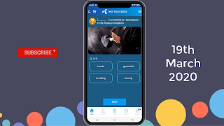 My Telenor Play and Win 19-03-2020