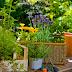 Garden flowers tools