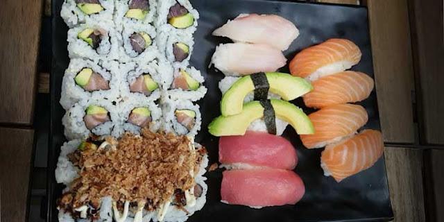 DD Sushi Charpennes lyon 6