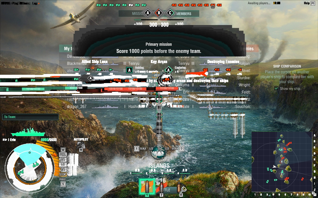 The Dàchéng Diaries: Screen Flicker in World of Warships