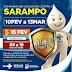 Começa nova campanha de vacinação contra o sarampo em Serrinha