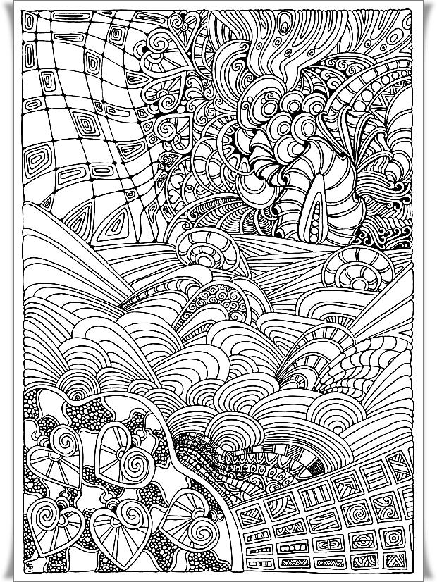 Malvorlage Schwierig Mandala Coloring And Malvorlagan